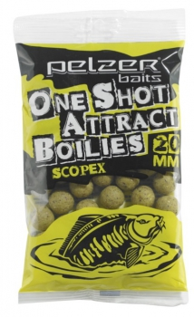 Pelzer One Shot Attract Boilies Scopex