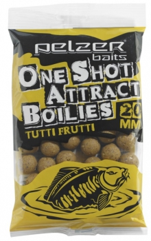 Pelzer One Shot Attract Boilies Tutti Frutti