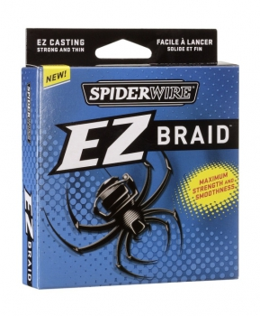 Spiderwire EZ Braid Lo Vis grün 270m