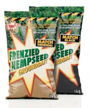 Dynamite Baits Frenzied Hemp Match Black