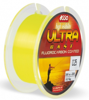 Asso Ultra Cast Fluo Yellow 300m