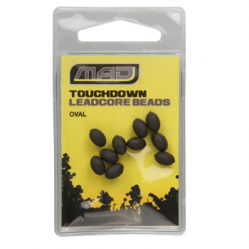 MAD TOUCHDOWN OVAL LEADCORE BEADS