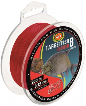 WFT Target Fish 8 Feeder Rot 200m