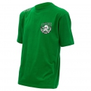 MADCAT T-Shirt SKULL & CLONKS GREEN